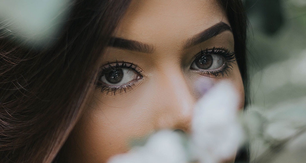 beautiful woman eyes