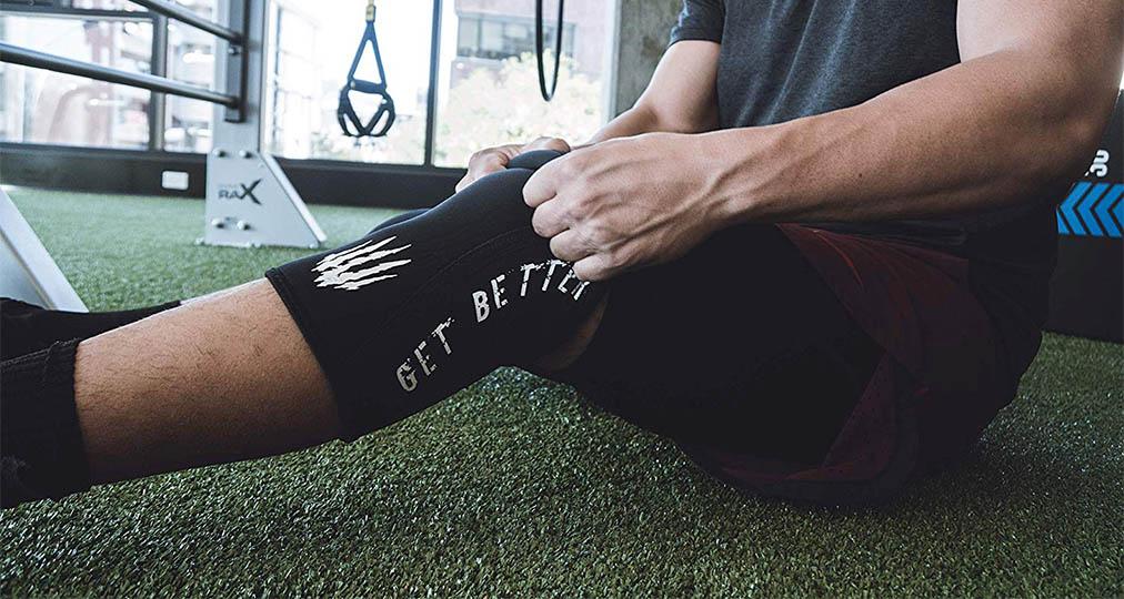 black knee sleeve