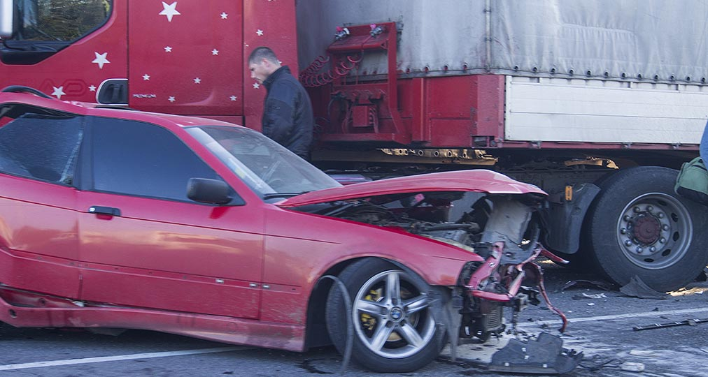 car truck accident