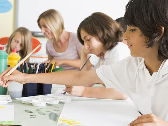Top 6 advantages of children's art lessons