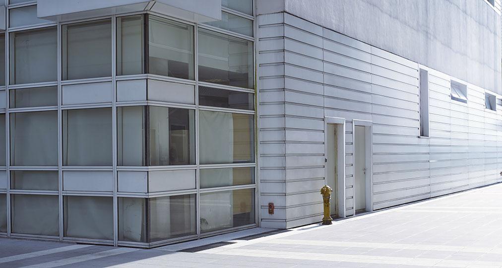 commercial building exterior walls