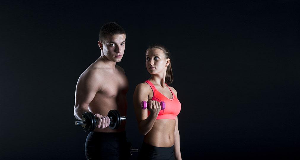 couple bodybuilding