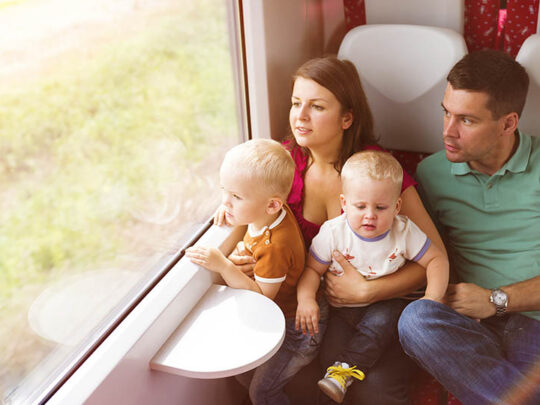 Expert tips when travelling with toddlers