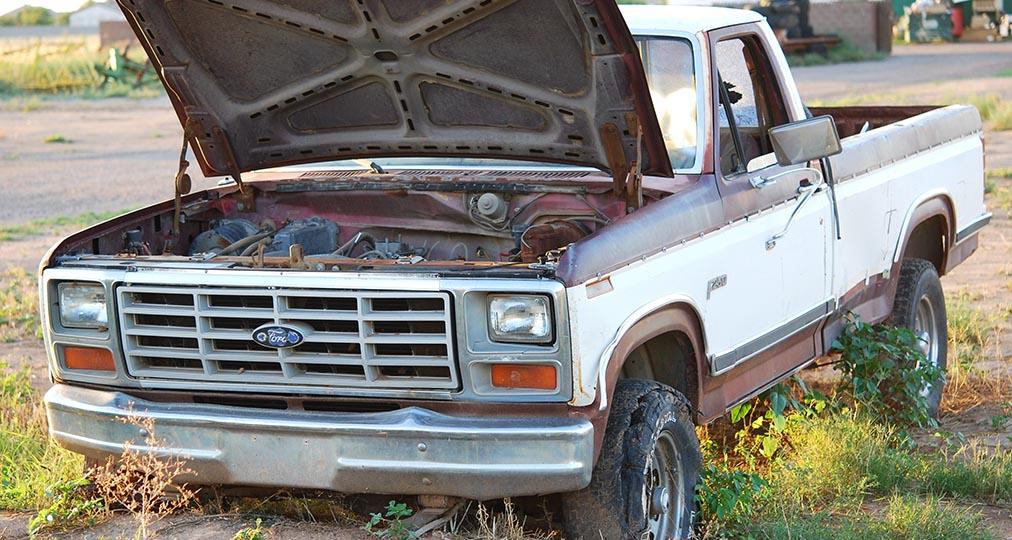 ford truck junk car