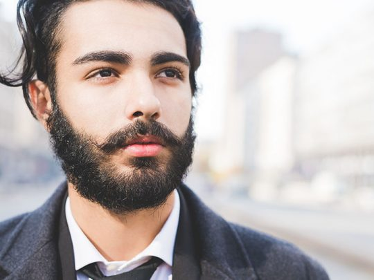 How to manage a handlebar moustache