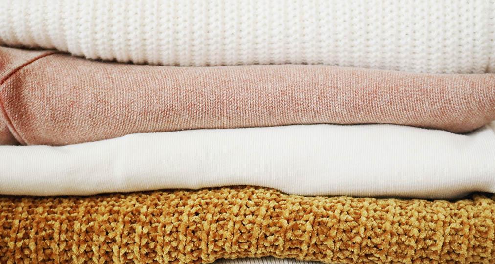 linens various colors