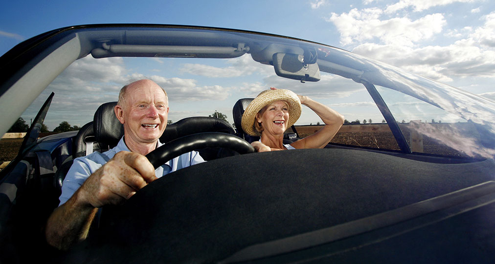 old couple road trip