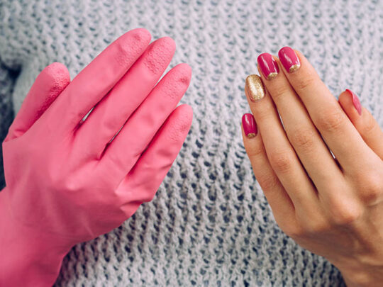 Can you wash and reuse nitrile gloves?
