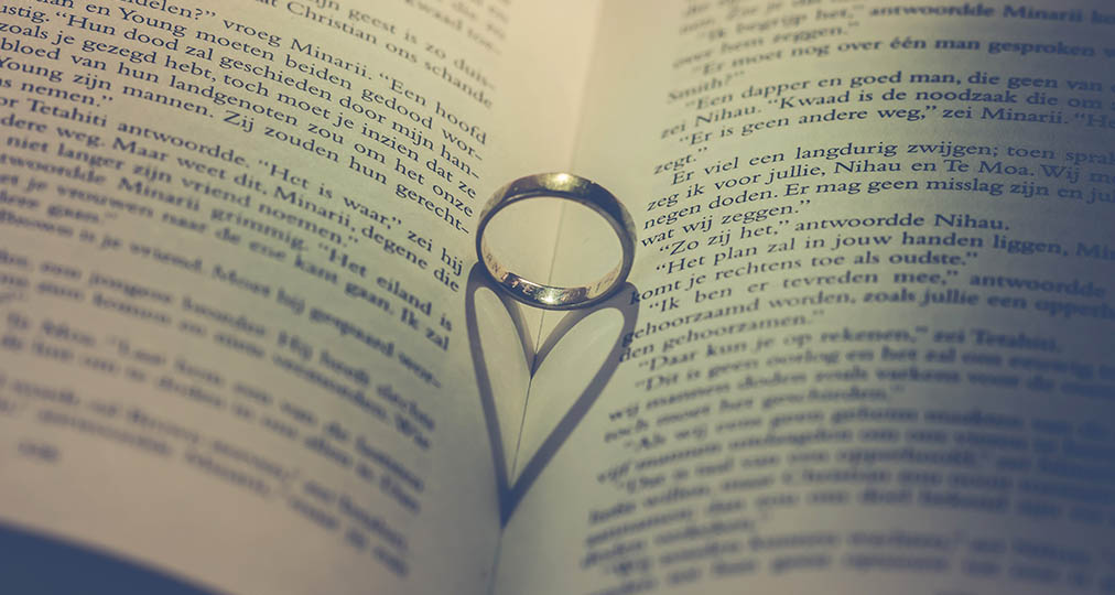 ring on a book