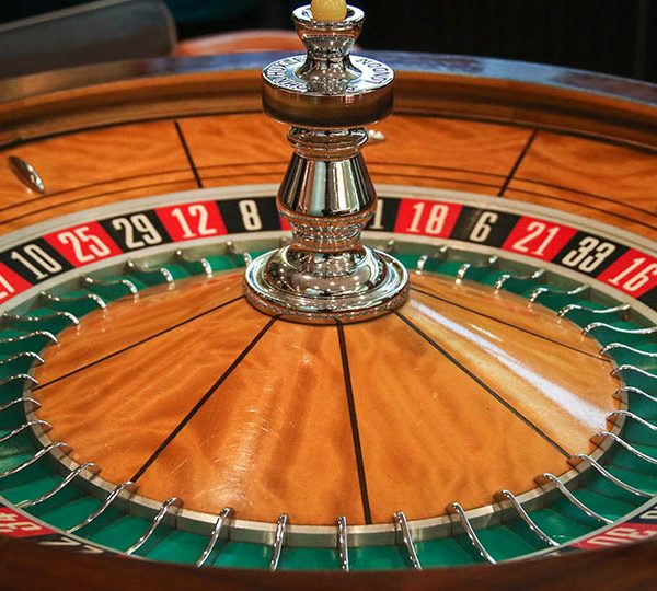 The roulette wheel, a game of chance and math
