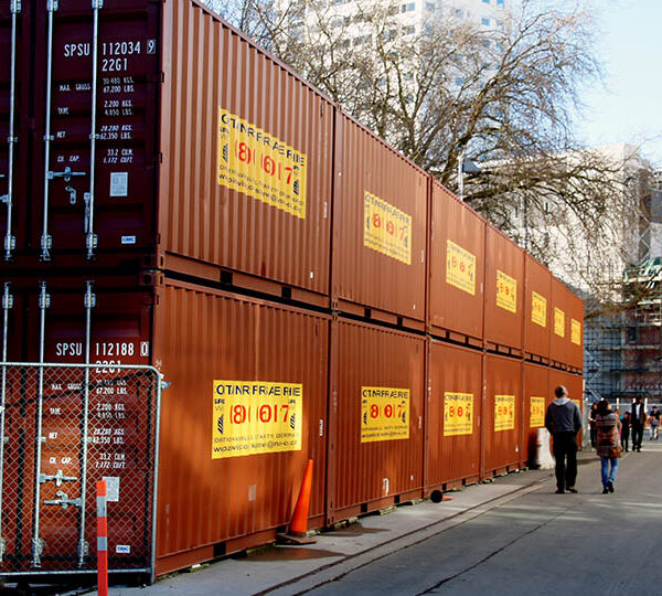 Benefits of shipping containers in a business