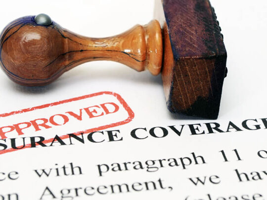 stamp on insurance agreement