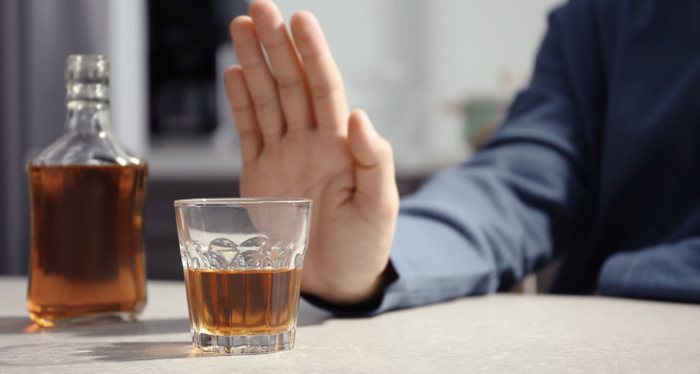 stop drinking whiskey