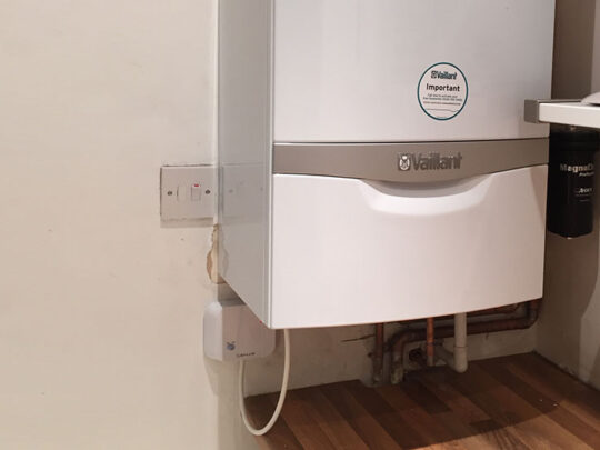 vaillant boiler in house