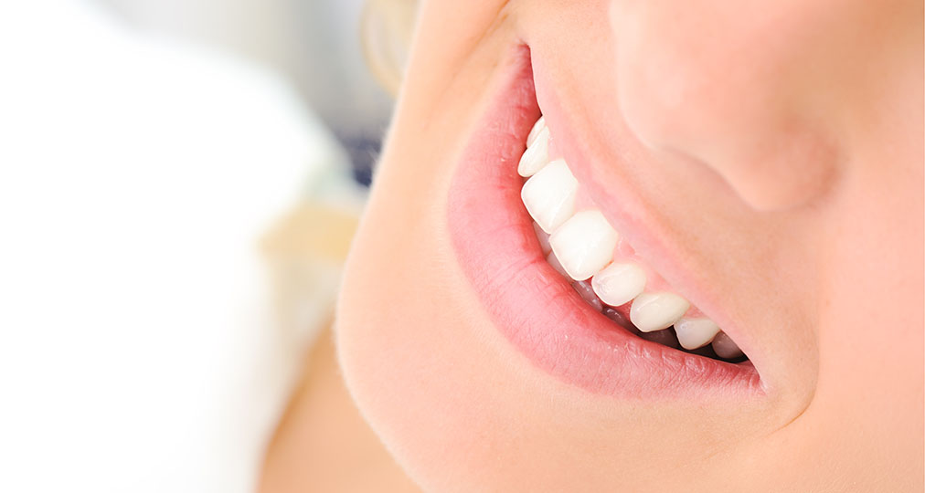 white teeth nice smile