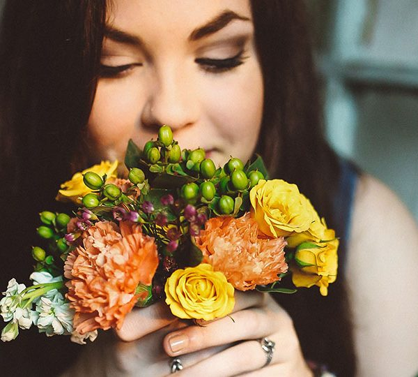 Flowers shown to improve physical and mental health