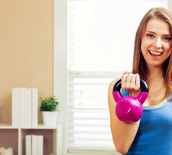 Benefits of working out at home
